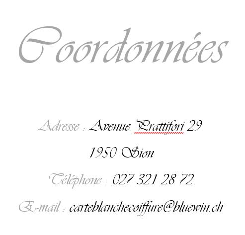 coordonees